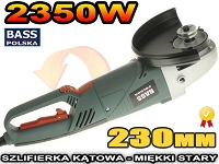 SZLIFIERKA KĄTOWA DIAX 230MM 2350W MIĘKKI START